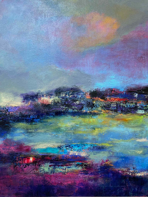 Serengeti Reflections, Oil on Canvas, 60 x 40, 2021.jpg