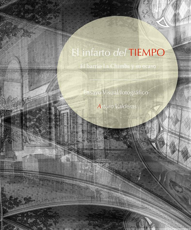 Libro Infarto del tiempo autor Arturo Valderas
