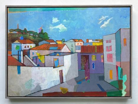 Odemira, 2021, Öl auf Papier, 42x59 cm