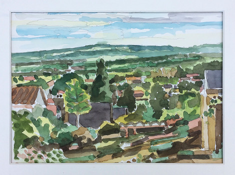 Ibbenbüren, 2019, Aquarell, 23x31 cm