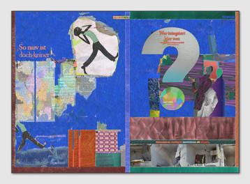 ZEIT Uebermalung,2016, Digital Malerei, Printsize, 38 x 53 cm, Auftragsarbeit