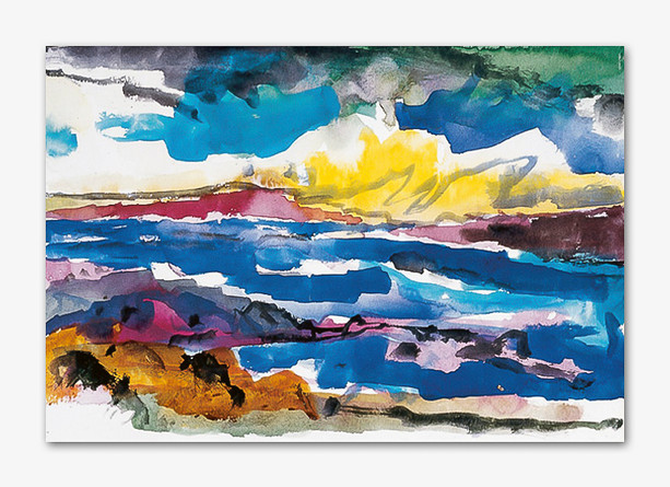 Bohuslän, 2001, Aquarell, 16x24 cm