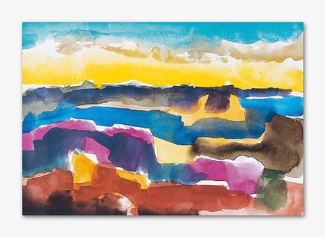 Bohuslän, 2001 Aquarell, 16x24 cm