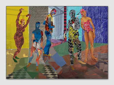 Farbenläufer, 2012, Digital Malerei