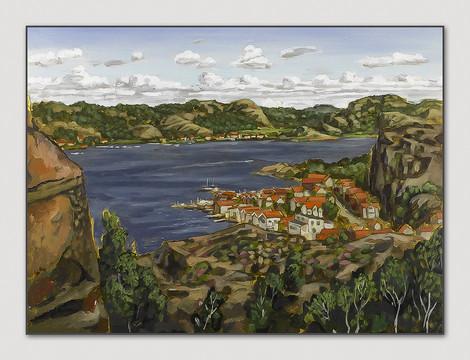 Bovallstrand, Bohuslän, 2007, 28x38 cm