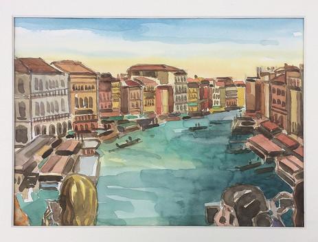 Venedig, 2019, Aquarell, 23x31 cm