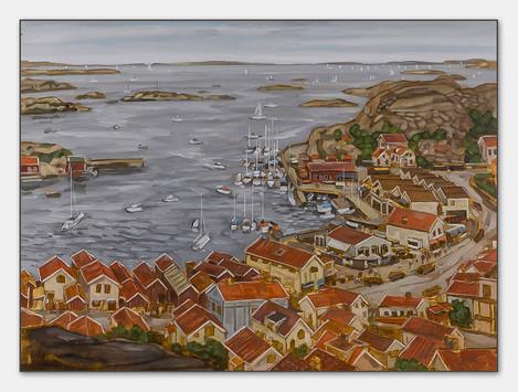 Hunnebostrand, Bohuslän, 2007, 28x38 cm