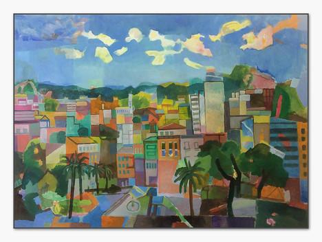 Palma, 2019, Öl auf Leinwand, 135x165 cm