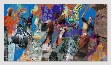 Ohne Titel, 2013, Digital Malerei, Printsize, 36 x 66 cm