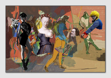Modern Times, 2015, Digitalmalerei