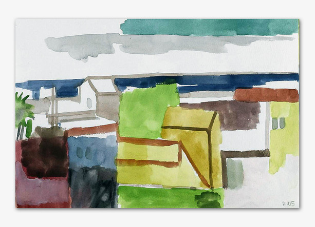 Gomera, 2005, Aquarell, 16x24 cm