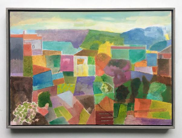 Odemira, 2019, Öl auf Papier, 42x59 cm