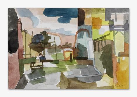 Orta San Julio, 2007, Aquarell, 16x24 cm