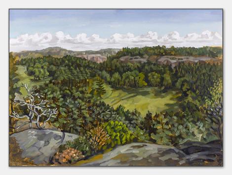 Gulmarnsberget, Bohuslän, 2007, 28x38 cm