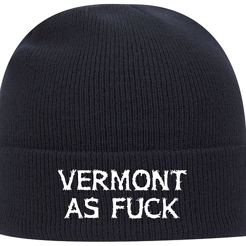 Vermont As Fuck Beanie