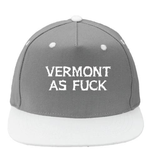 Vermont As Fuck Flat brim