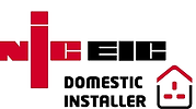 NICIEC Domestic Installer qualified electricians.