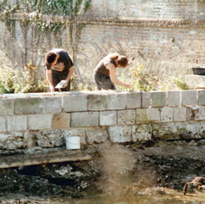 Reconstruction du Muret
