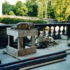 Restauration des Pots à feu.