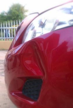Paintless Dent Repair Before
