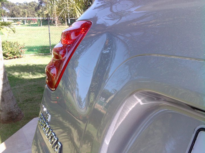Paintless Dent Repair Before