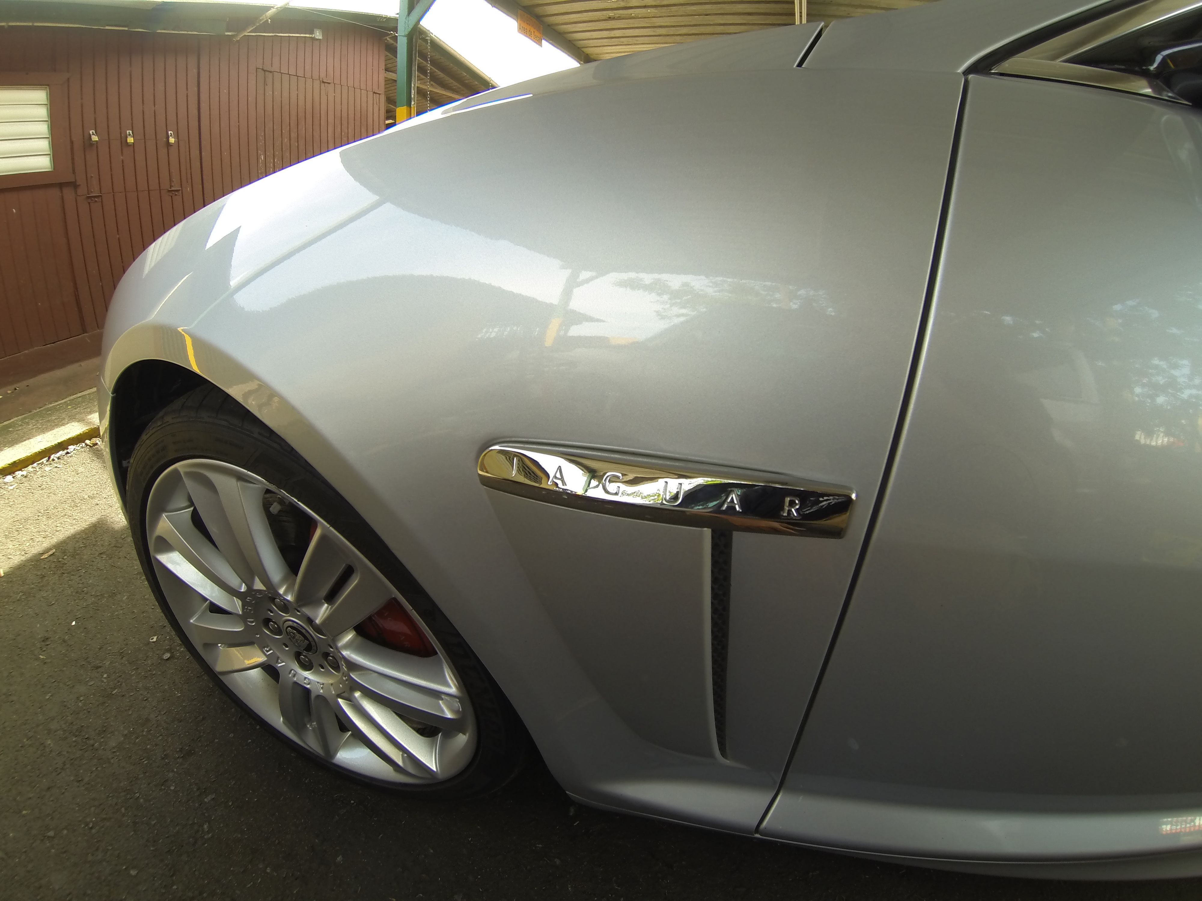 Paintless Dent Repair Jaguar 2012