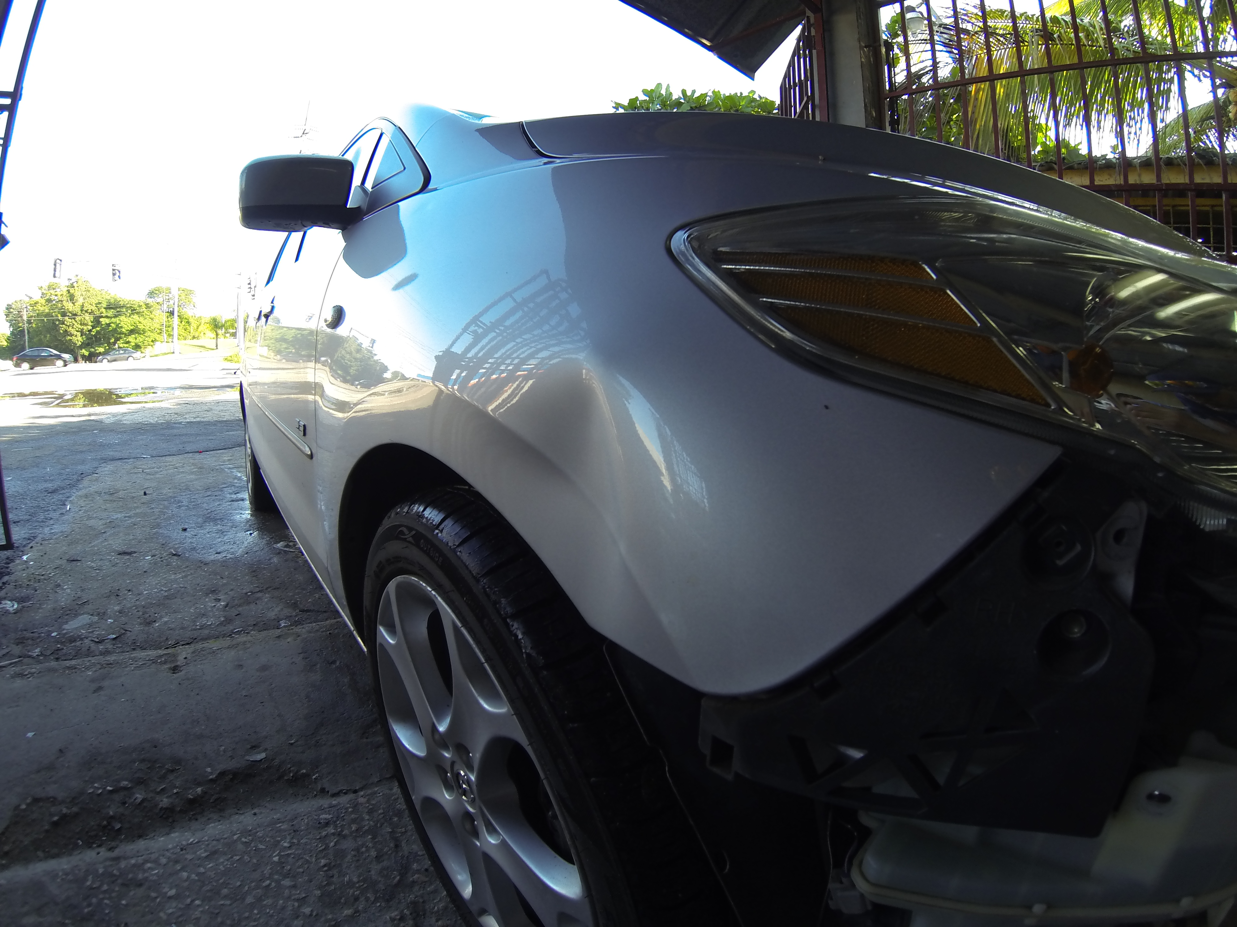 Paintless Dent Repair H/Accent 2012
