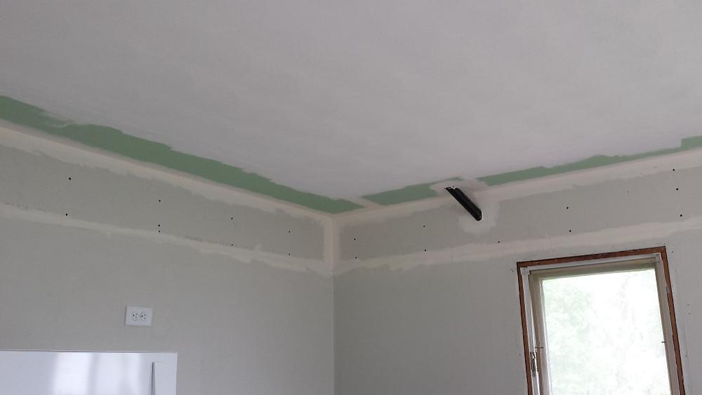 Kitchen Ceiling Minus Soffit