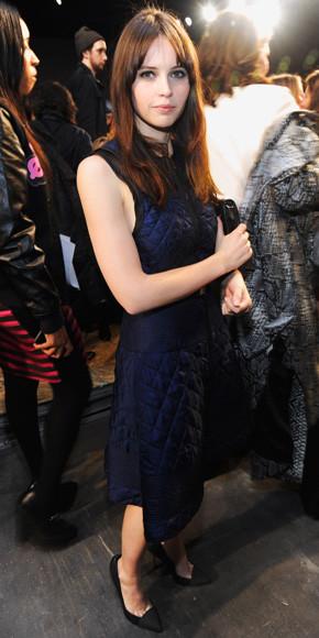 Felicity Jones in Proenza Schouler