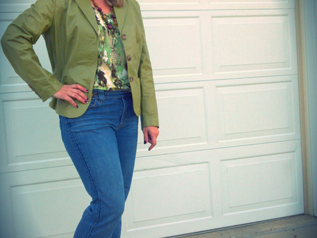 Fall Fashion Challenge- Day Twentythree- Going Green