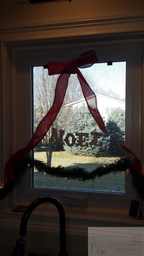Noel in the Window