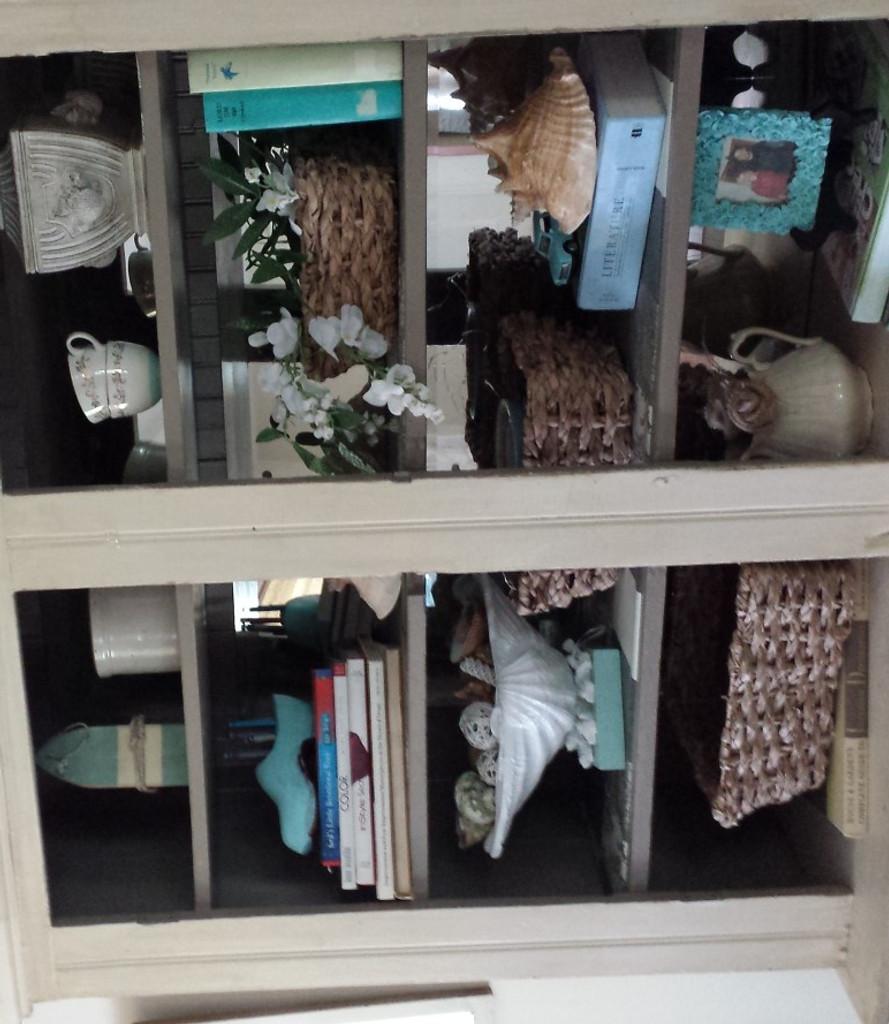 Bookcase Close Up