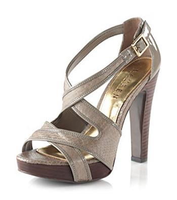 """Lauren Ralph Lauren """"Fianna"""" Platform Dress Sandal"""