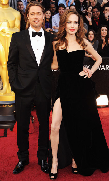 Angelina Jolie - Brad Pitt - Versace - Tom Ford - Oscars