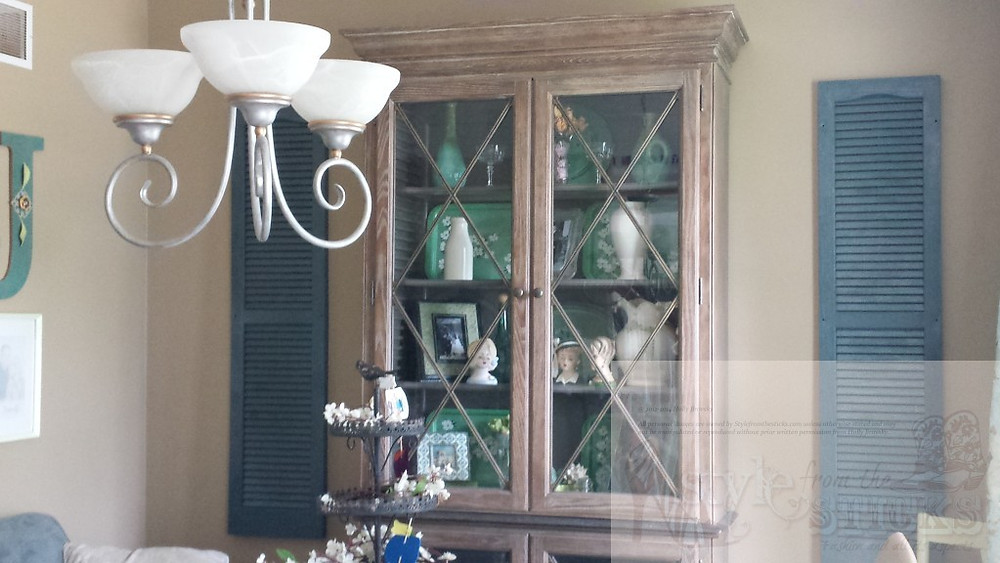 Hutch with Shutters