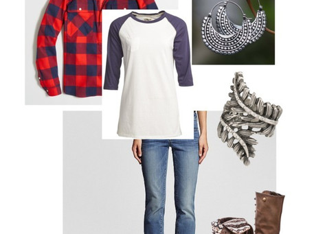 Fall into Fashion 2015- Buffalo Check