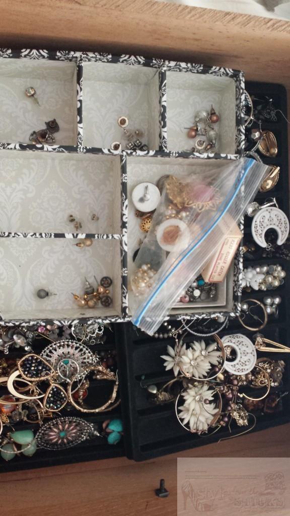 Jewelry Drawer Mess