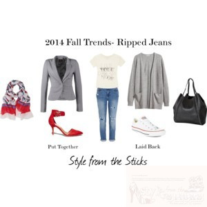 2014 Fall Trends- Ripped Jeans