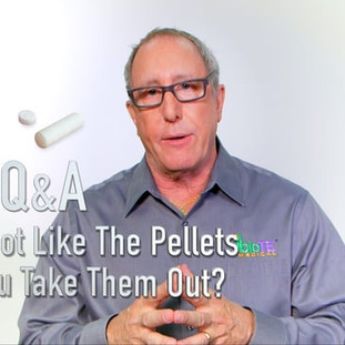 BioTE® Q&A: If I do not like the pellets, can you take them out?