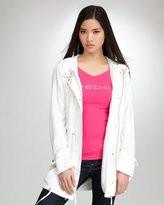 anorak jacket-tencel twill anorak
