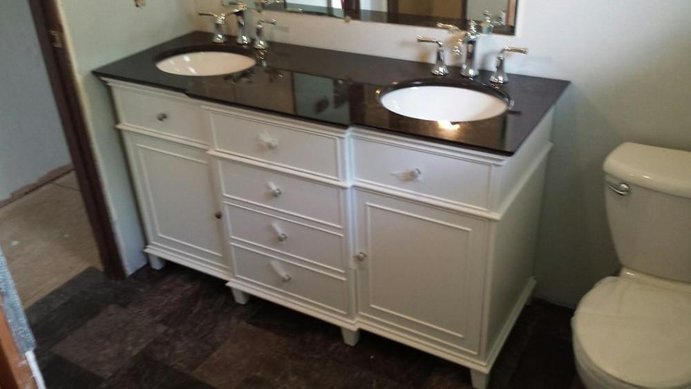 Vanity With Sinks