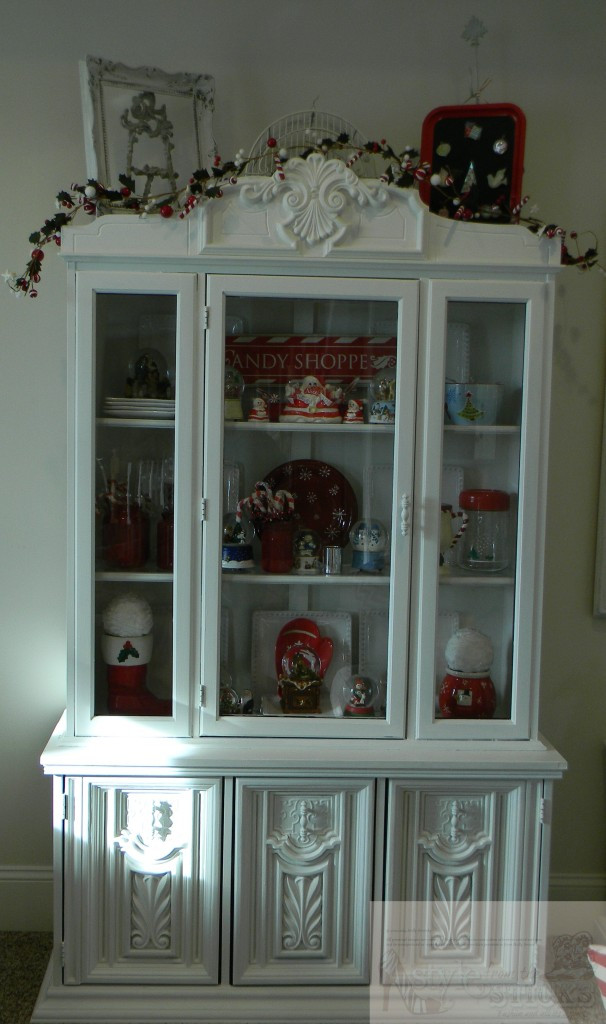 Candy Themed China Hutch