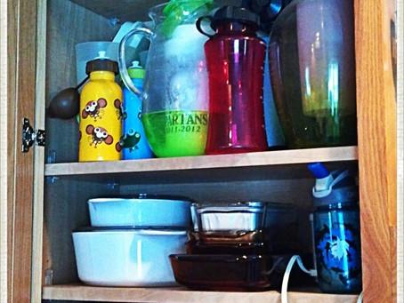 Mission Organization- Kitchen Cabinet No. 3 & 4
