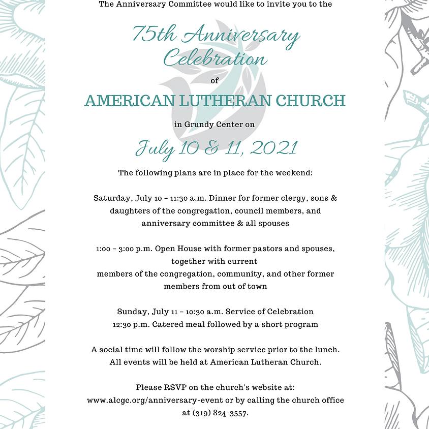 ALC Anniversary Celebration