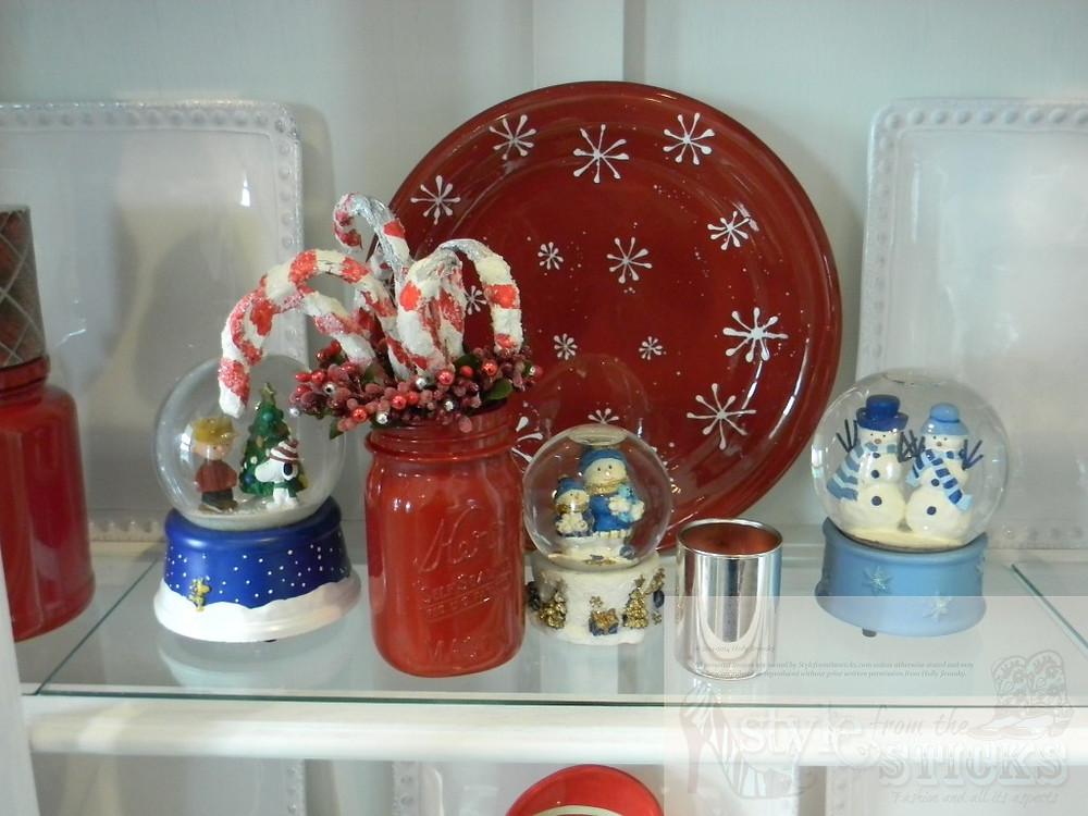 Painted Bell Jars & Pickle Jars