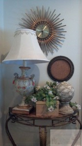 Clock and Corkboard