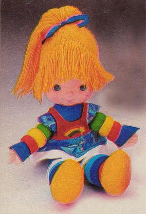 Favorite Childhood Toys... :  wedding toys Rainbow Brite Doll