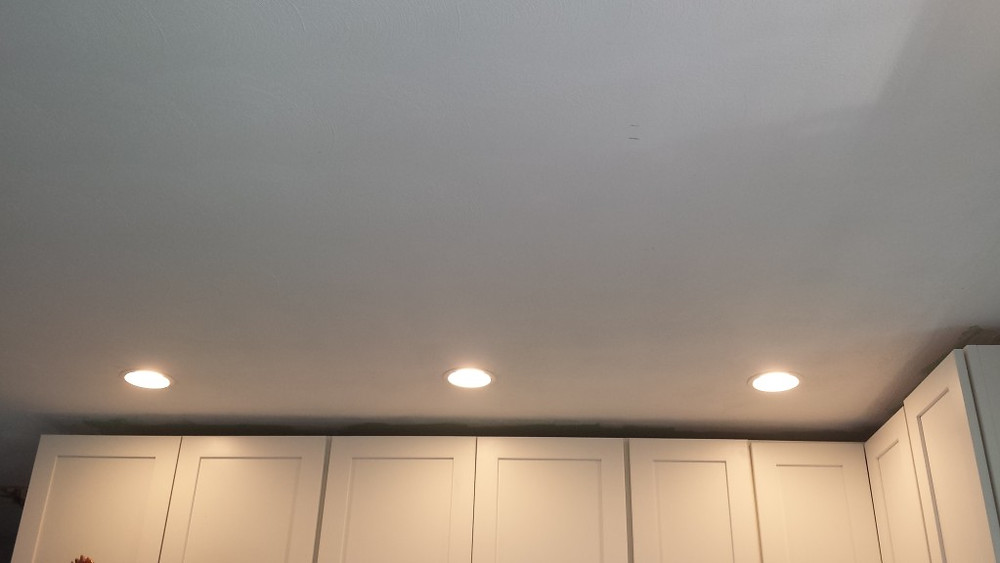 Small Kitchen Canned Lights