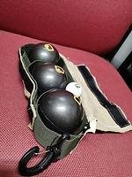 Indoor petanque boules