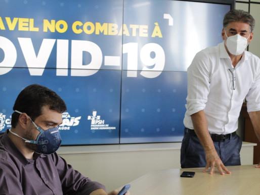 Reunião emergencial discute atual momento da pandemia